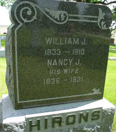 HIRONS, WILLIAM & NANCY - Sac County, Iowa | WILLIAM & NANCY HIRONS