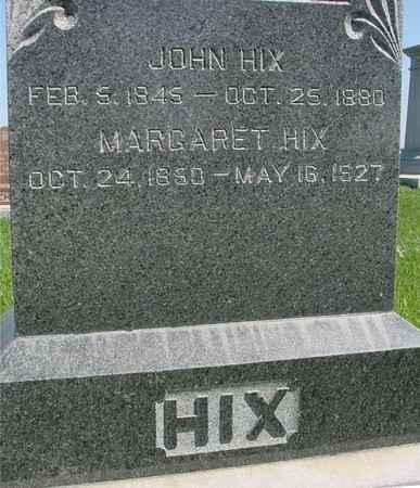 HIX, JOHN & MARGARET - Sac County, Iowa | JOHN & MARGARET HIX