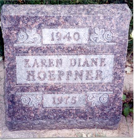 SHERRILL HOEPPNER, KAREN DIANE - Sac County, Iowa | KAREN DIANE SHERRILL HOEPPNER
