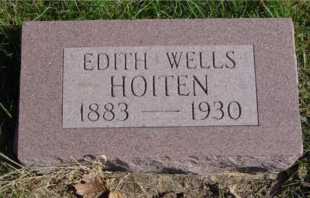 WELLS HOITEN, EDITH - Sac County, Iowa | EDITH WELLS HOITEN