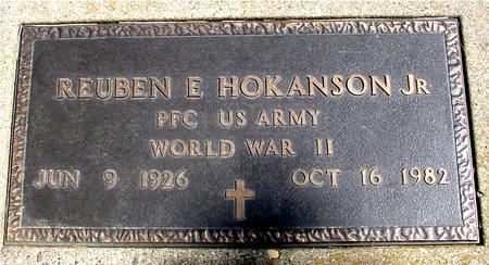 HOKANSON, REUBEN E.  JR. - Sac County, Iowa | REUBEN E.  JR. HOKANSON