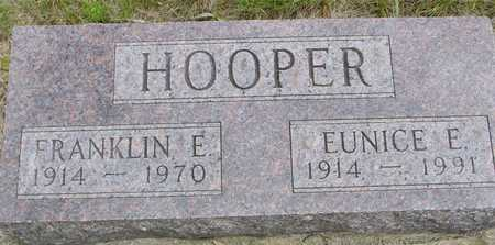 HOOPER, FRANKLIN & EUNICE - Sac County, Iowa | FRANKLIN & EUNICE HOOPER