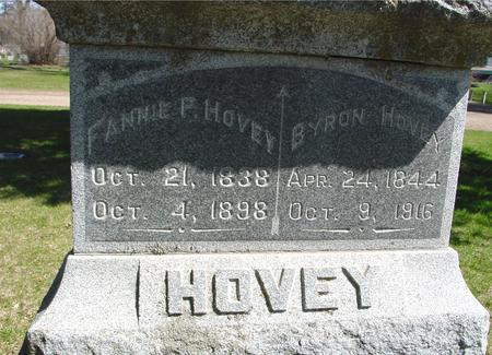 HOVEY, BYRON & FANNIE - Sac County, Iowa | BYRON & FANNIE HOVEY