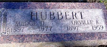 HUBBERT, ORVILLE & MADGE - Sac County, Iowa | ORVILLE & MADGE HUBBERT
