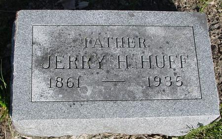 HUFF, JERRY H. - Sac County, Iowa | JERRY H. HUFF