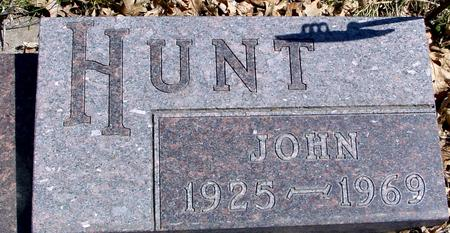 HUNT, JOHN - Sac County, Iowa | JOHN HUNT