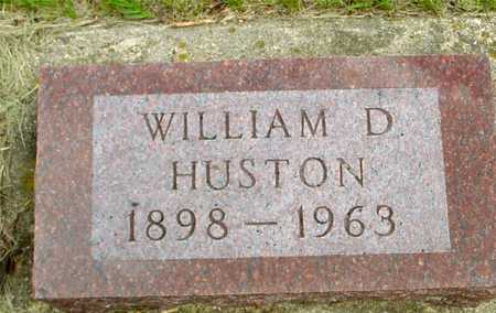 HUSTON, WILLIAM D. - Sac County, Iowa | WILLIAM D. HUSTON