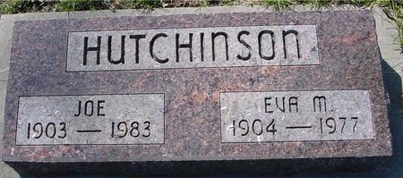 HUTCHINSON, JOE & EVA M. - Sac County, Iowa | JOE & EVA M. HUTCHINSON