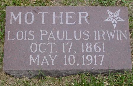 PAULUS IRWIN, LOIS - Sac County, Iowa | LOIS PAULUS IRWIN