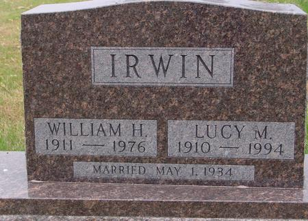 IRWIN, WILLIAM & LUCY - Sac County, Iowa | WILLIAM & LUCY IRWIN
