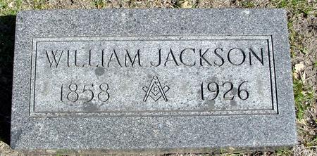 JACKSON, WILLIAM - Sac County, Iowa   WILLIAM JACKSON