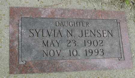 JENSEN, SYLVIA N. - Sac County, Iowa | SYLVIA N. JENSEN