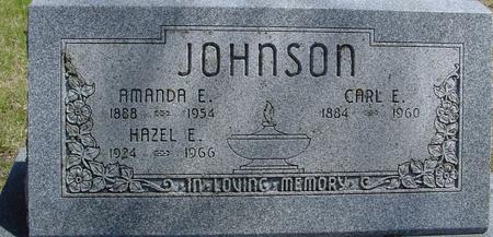 JOHNSON, CARL & AMANDA E. - Sac County, Iowa | CARL & AMANDA E. JOHNSON
