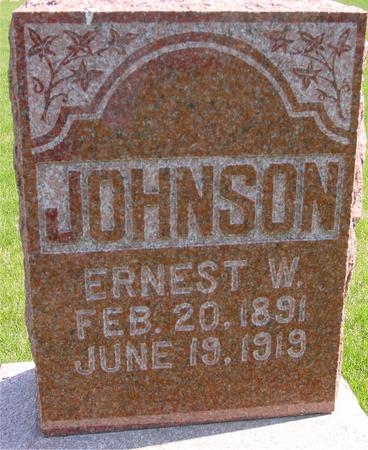 JOHNSON, ERNEST W. - Sac County, Iowa | ERNEST W. JOHNSON