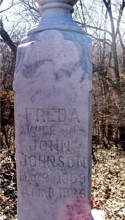 JOHNSON, FREDA - Sac County, Iowa | FREDA JOHNSON