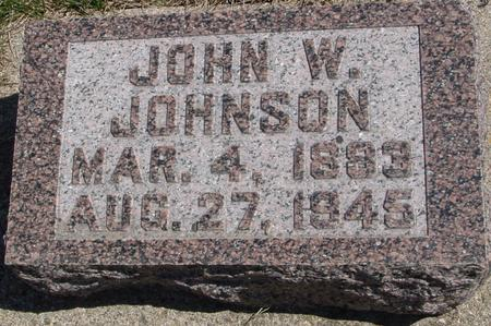JOHNSON, JOHN W. - Sac County, Iowa | JOHN W. JOHNSON