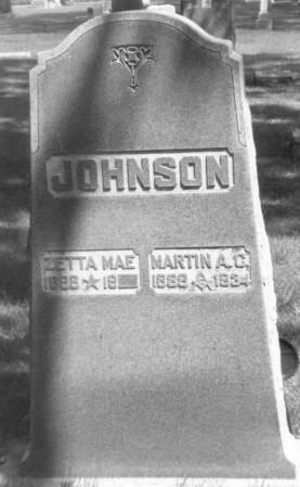 JOHNSON, MARTIN - Sac County, Iowa | MARTIN JOHNSON