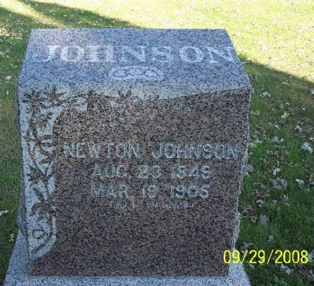 JOHNSON, NEWTON - Sac County, Iowa | NEWTON JOHNSON