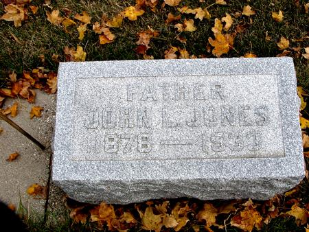 JONES, JOHN L. - Sac County, Iowa | JOHN L. JONES