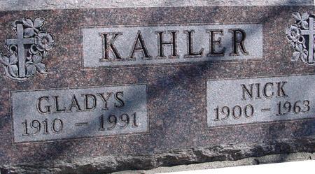 KAHLER, NICK & GLADYS - Sac County, Iowa | NICK & GLADYS KAHLER