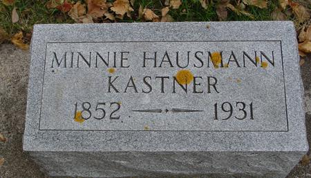 HAUSMANN KASTNER, MINNIE - Sac County, Iowa | MINNIE HAUSMANN KASTNER