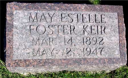 FOSTER KEIR, MAY ESTELLE - Sac County, Iowa | MAY ESTELLE FOSTER KEIR