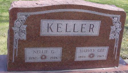 KELLER, HARVEY & NELLIE - Sac County, Iowa | HARVEY & NELLIE KELLER