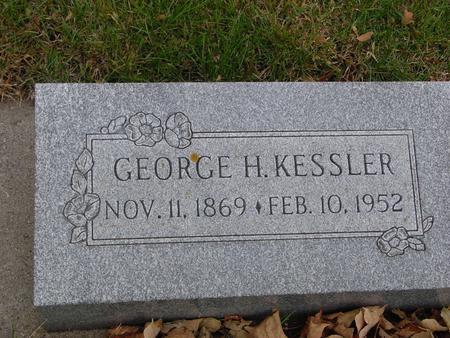 KESSLER, GEORGE H. - Sac County, Iowa | GEORGE H. KESSLER