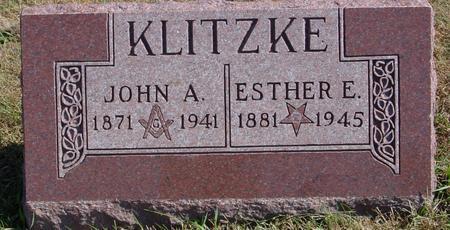 KLITZKE, JOHN & ESTHER - Sac County, Iowa | JOHN & ESTHER KLITZKE