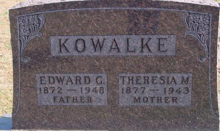 KOWALKE, EDWARD & THERESIA - Sac County, Iowa | EDWARD & THERESIA KOWALKE