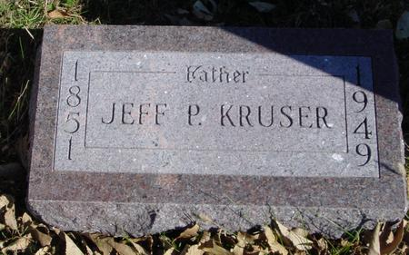 KRUSER, JEFF P. - Sac County, Iowa | JEFF P. KRUSER
