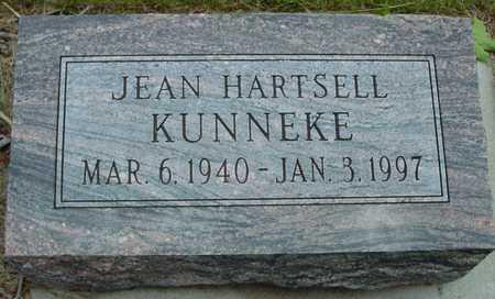 HARTSELL KUNNEKE, JEAN - Sac County, Iowa | JEAN HARTSELL KUNNEKE