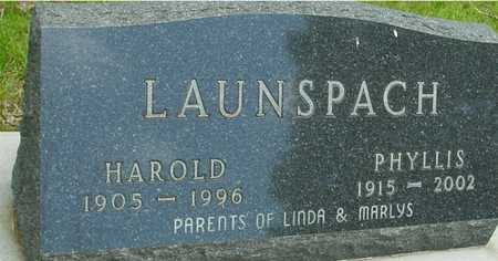 LAUNSPACH, HAROLD & PHYLLIS - Sac County, Iowa | HAROLD & PHYLLIS LAUNSPACH