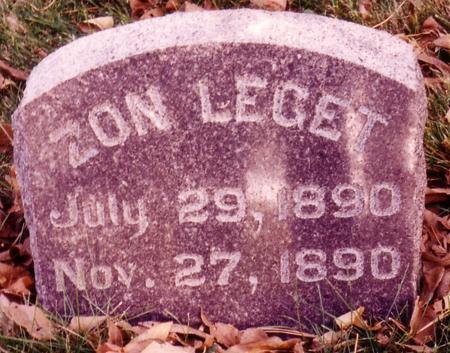 LEGET, ZON - Sac County, Iowa | ZON LEGET