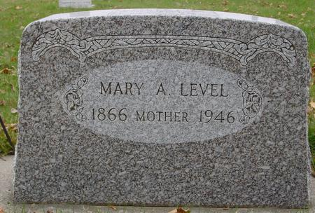 LEVEL, MARY A. - Sac County, Iowa | MARY A. LEVEL