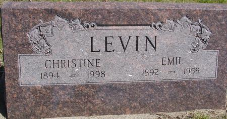 LEVIN, EMIL & CHRISTINE - Sac County, Iowa | EMIL & CHRISTINE LEVIN