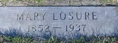 LOSURE, MARY E. - Sac County, Iowa | MARY E. LOSURE