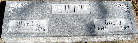 LUFT, GUS J. & OLIVE - Sac County, Iowa | GUS J. & OLIVE LUFT