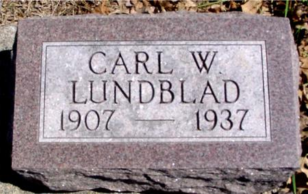 LUNDBLAD, CARL W. - Sac County, Iowa | CARL W. LUNDBLAD