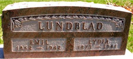 LUNDBLAD, EMIL & LYDIA - Sac County, Iowa | EMIL & LYDIA LUNDBLAD