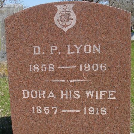 LYON, D. P. & DORA - Sac County, Iowa | D. P. & DORA LYON