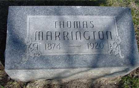 MARRINGTON, THOMAS - Sac County, Iowa | THOMAS MARRINGTON