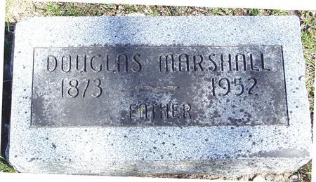 MARSHALL, DOUGLAS - Sac County, Iowa   DOUGLAS MARSHALL