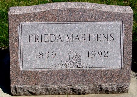 MARTIENS, FRIEDA - Sac County, Iowa | FRIEDA MARTIENS