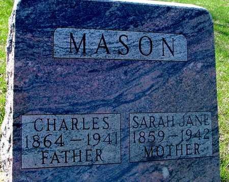 MASON, CHARLES & SARAH J. - Sac County, Iowa | CHARLES & SARAH J. MASON