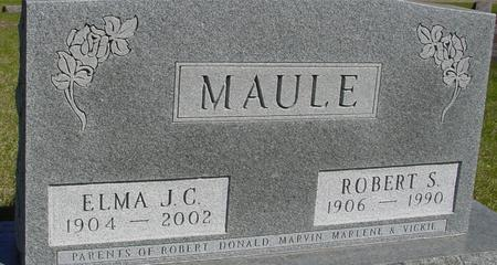 MAULE, ROBERT & ELMA - Sac County, Iowa | ROBERT & ELMA MAULE
