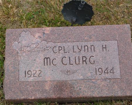 MC CLURG, LYNN H. - Sac County, Iowa | LYNN H. MC CLURG