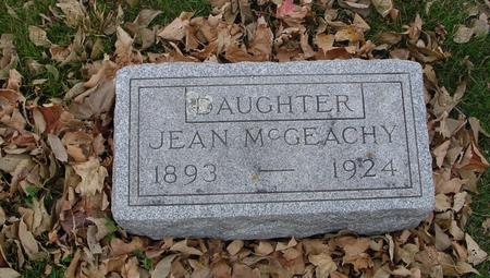 MC GEACHY, JEAN - Sac County, Iowa | JEAN MC GEACHY