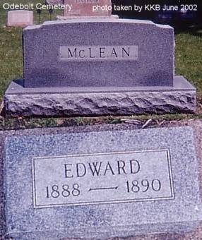 MCCLEAN, EDWARD - Sac County, Iowa | EDWARD MCCLEAN