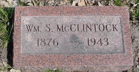 MCCLINTOCK, WILLIAM S. - Sac County, Iowa | WILLIAM S. MCCLINTOCK